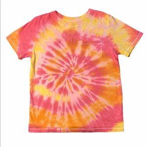 Girls Cat & Jack Tie-dye T-shirt size Medium
